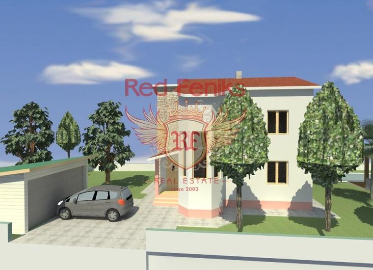 Новый дом на участке 541 м2. г. Бар, Вилла в Бар Черногория