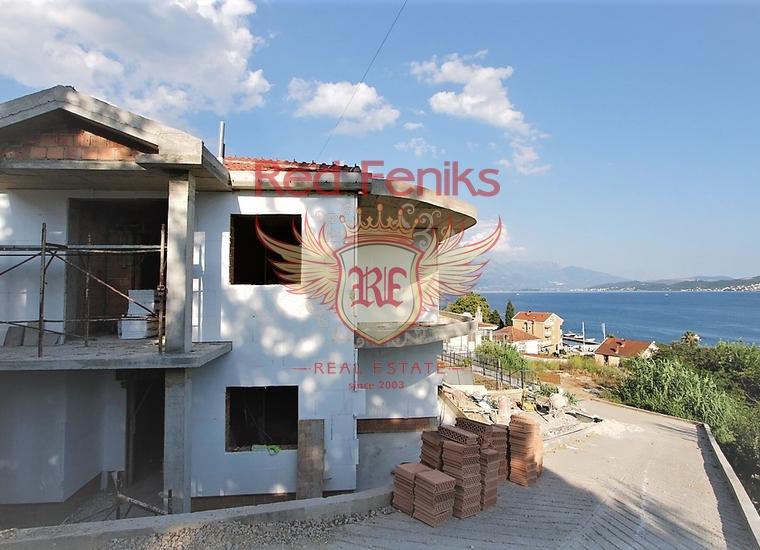 Дом с панорамным видом на море в Тиватском заливе, купить виллу в Дженовичи