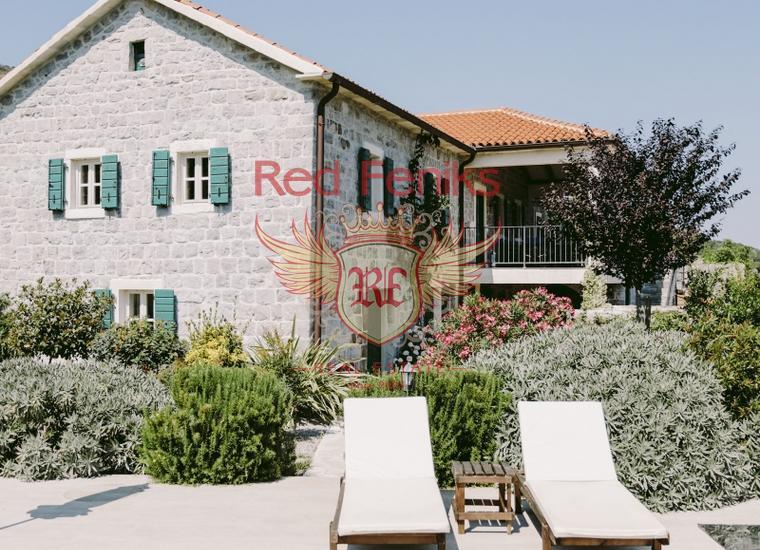 Роскошная вилла с бассейном на полуострове Луштица, купить дом в п-ов Луштица