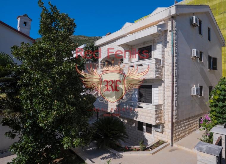 Каменный отель в Бечичах, Черногория, Коммерческая недвижимость в Регион Будва Черногория