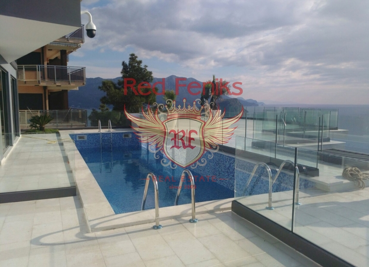 Три современные виллы в Будве, купить дом в Регион Будва