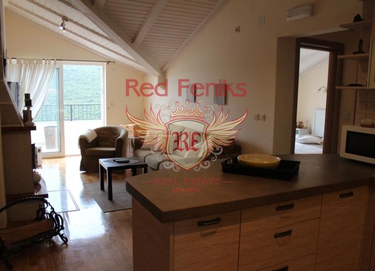 Трёхкомнатная квартира в Бигово, купить квартиру в Радовичи