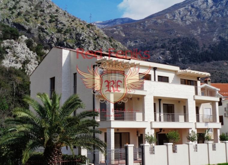 Новый апарт-отель в Рисане на первой линии, Вилла в Рисан Черногория