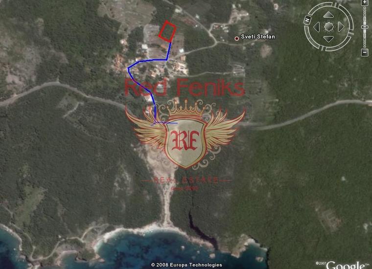 Урбанизированный участок, Близикуче, Участок Близикуче Черногория