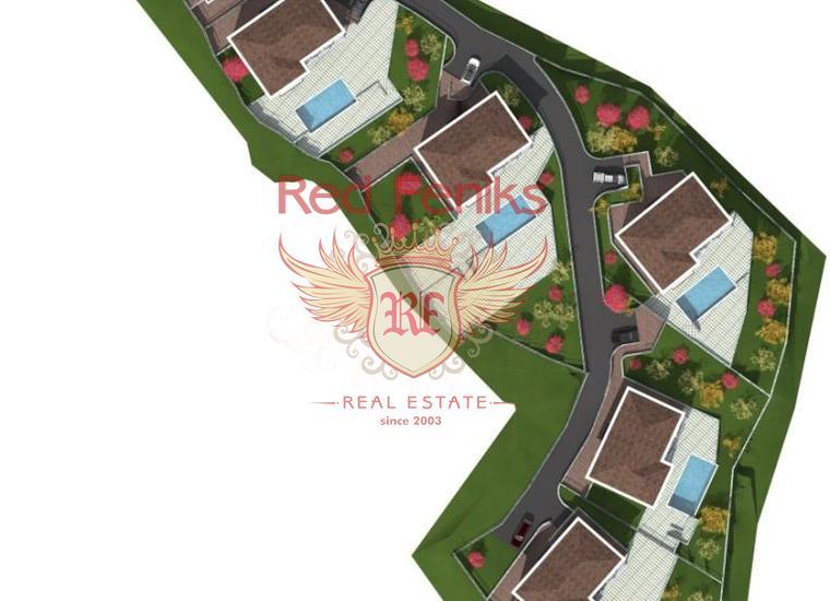 Урбанизированный участок под строительство вилл возле Херцег-Нови, купить участок в Херцег Нови