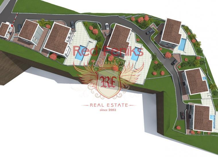 Урбанизированный участок под строительство вилл возле Херцег-Нови, купить землю в Херцег Нови