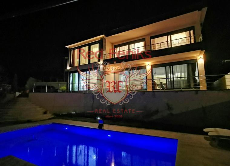 Современная вилла с бассейном видом на море Бар, Шушань, купить дом в Регион Бар и Ульцинь