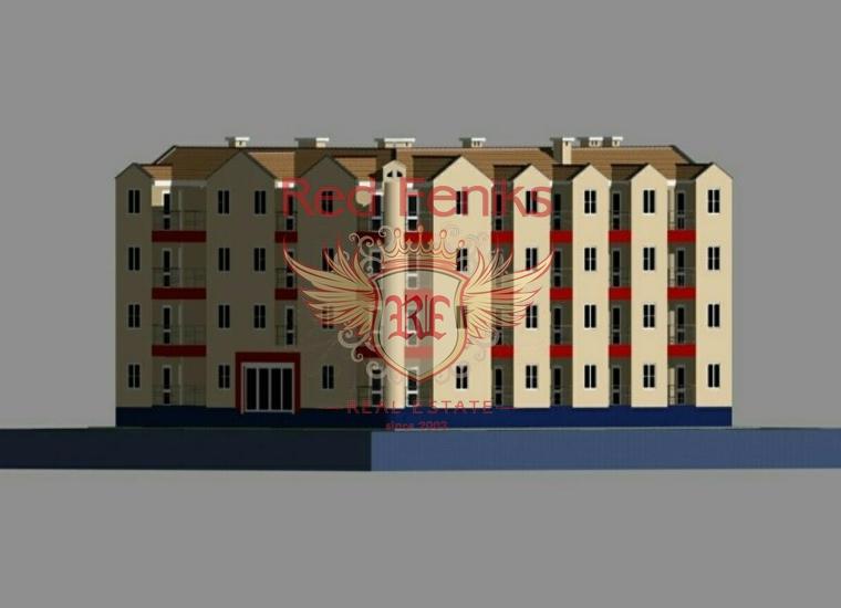 Урбанизированый участок в Игало, купить участок в Игало