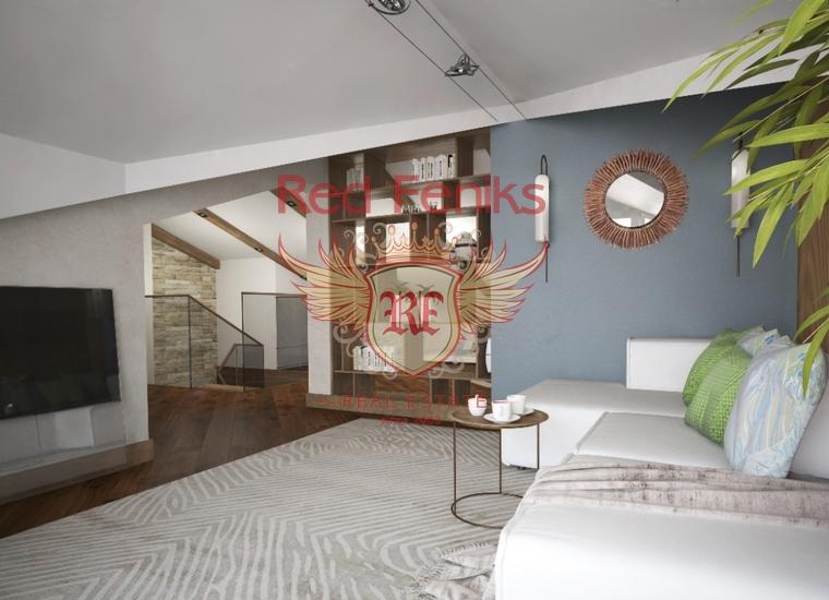 Дуплекс класса люкс с видом на море. Доброта, Которский залив, Квартира в Доброта Черногория