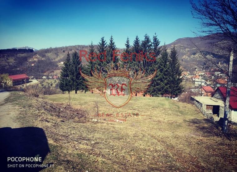 Урбанизированный участок в Колашине, Земля в Центральный район Черногория