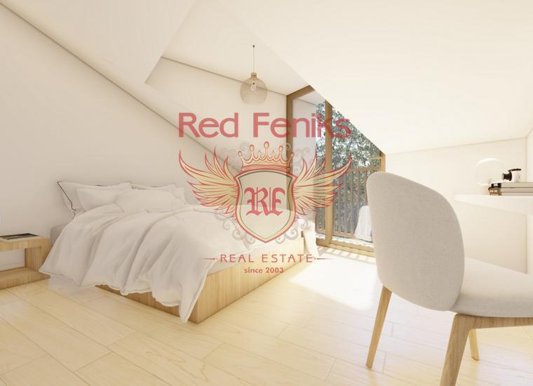 Двухкомнатная квартира в Тивате, Доня Ластва, Квартира в Регион Тиват Черногория