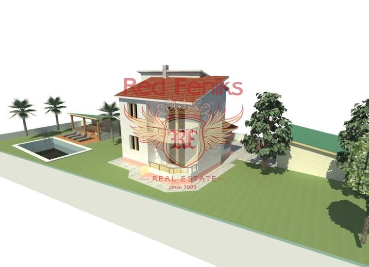 Новый дом на участке 541 м2. г. Бар, купить виллу в Бар