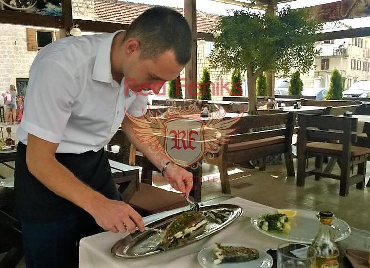 Уютный Ресторан на Берегу Залива, Коммерческая недвижимость в Прчань Черногория
