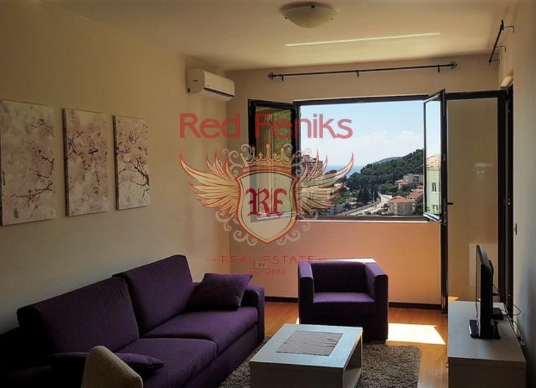 Новая Квартира в Бечичи, Квартира в Регион Будва Черногория