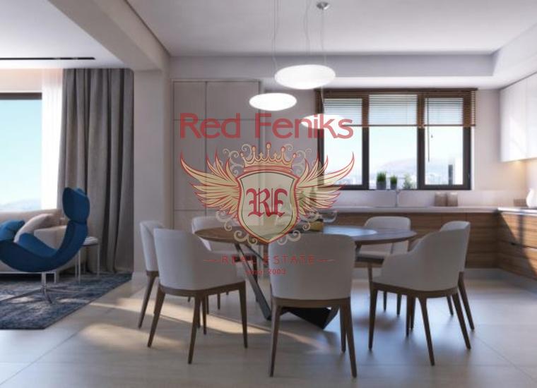 Новый Жилой Комплекс на Первой Линии, Квартира в Рафаиловичи Черногория