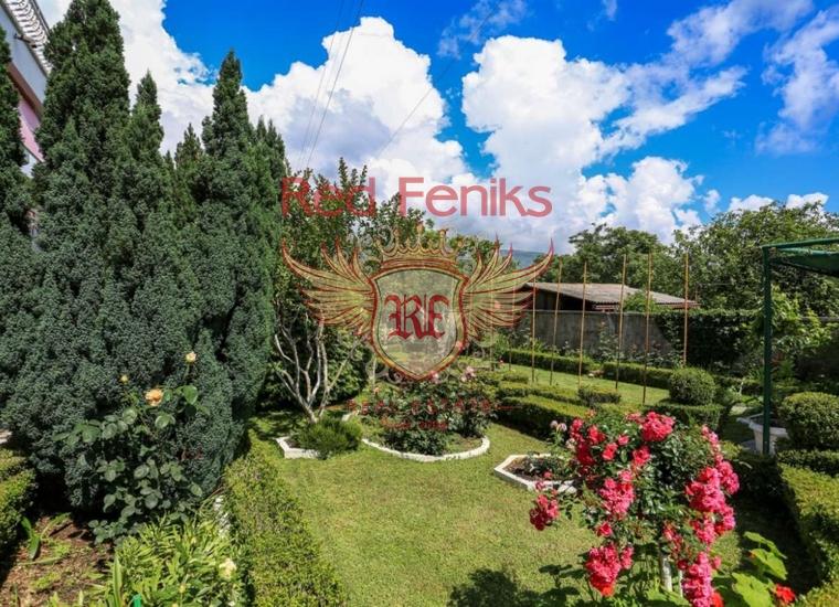 Трехэтажный дом с чудесным садом в Биеле, купить виллу в Биела