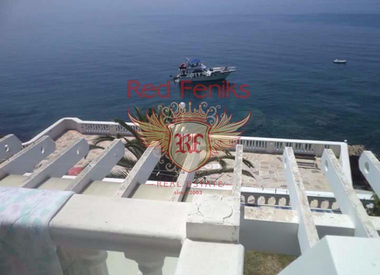 Вилла мини отель на берегу моря для реконструкции, купить коммерческую недвижимость в Регион Бар и Ульцинь