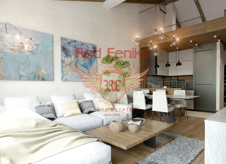 3-ий этаж Многокомнатная квартира 171м2 (108м2 + 63м2 галерея ) + паркинг-место.