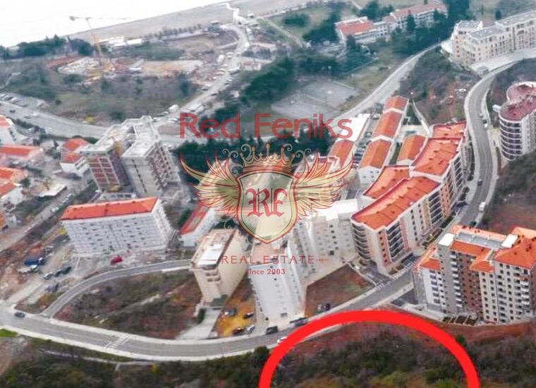 На продажу урбанизированный участок в Бечичи, Черногория.