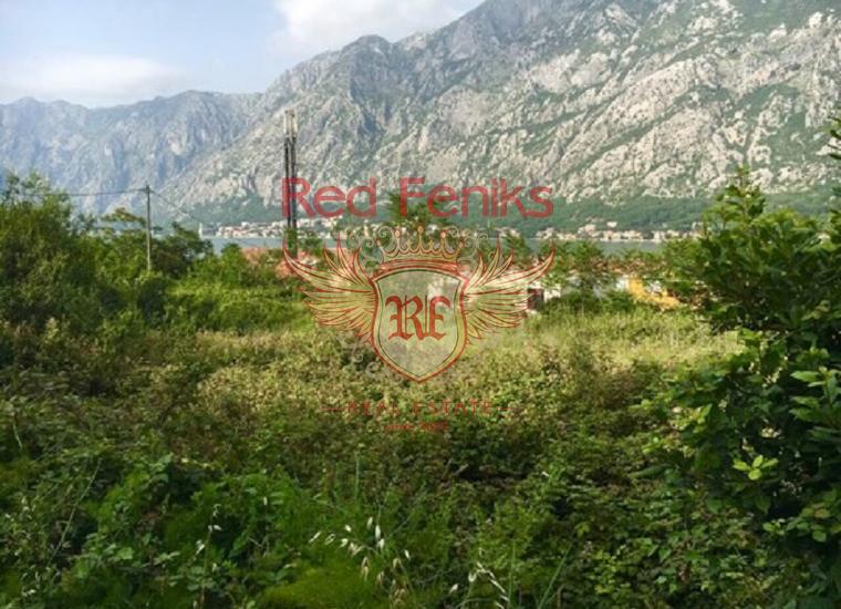 Участок в Которском заливе, Прчань, Черногория 5 кадастровых участков.