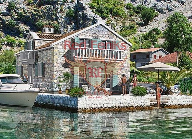 Остров с домом в живописном поселке Люта, Дом в Которский залив Черногория