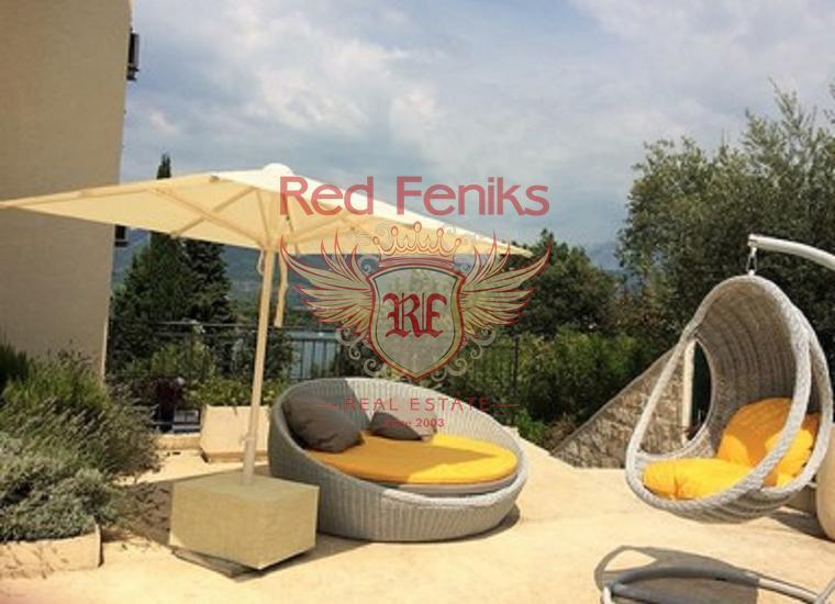Видовые новые апартаменты с двумя спальнями в комплексе, Тиватский залив, Джурашевичи.