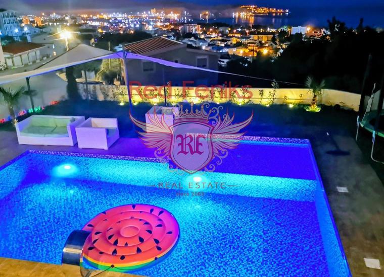 Современная вилла с бассейном видом на море Бар, Шушань, купить виллу в Бар