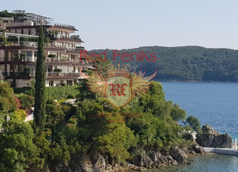 Квартира с двумя спальнями в престижном комплексе на берегу моря в Будве, Квартира в Регион Будва Черногория