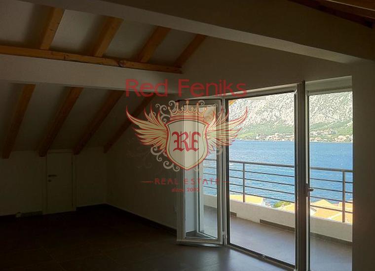Новая вилла с бассейном и видом на море в Бока-Которском заливе, Дом в Которский залив Черногория