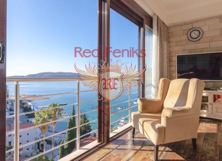 Пентхаус в Рафаиловичах с панорамным видом на море, купить квартиру в Рафаиловичи