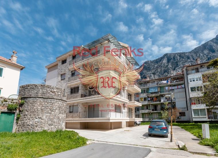 Двухуровневая квартира в Доброте, Котор, Квартира в Которский залив Черногория