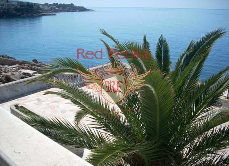 Вилла мини отель на берегу моря для реконструкции, Коммерческая недвижимость в Регион Бар и Ульцинь Черногория