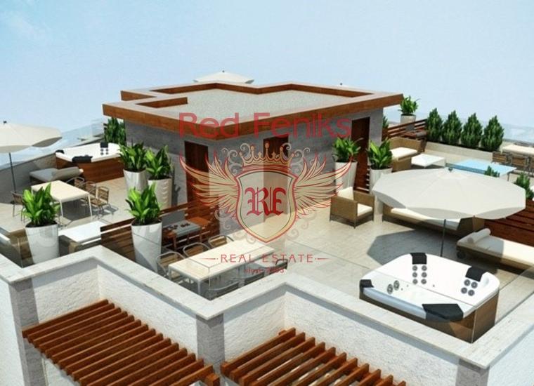 Высококачественные Aпартаменты в Бечичи, Квартира в Регион Будва Черногория