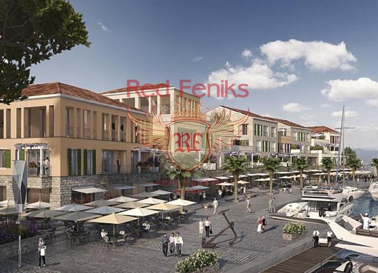 Недвижимость класса люкс в жилом комплексе в Кумбор, Квартира в Кумбор Черногория