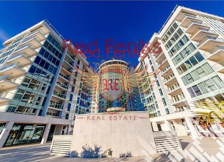 Квартиры в комплексе на первой линии в Будве, купить квартиру в Регион Будва