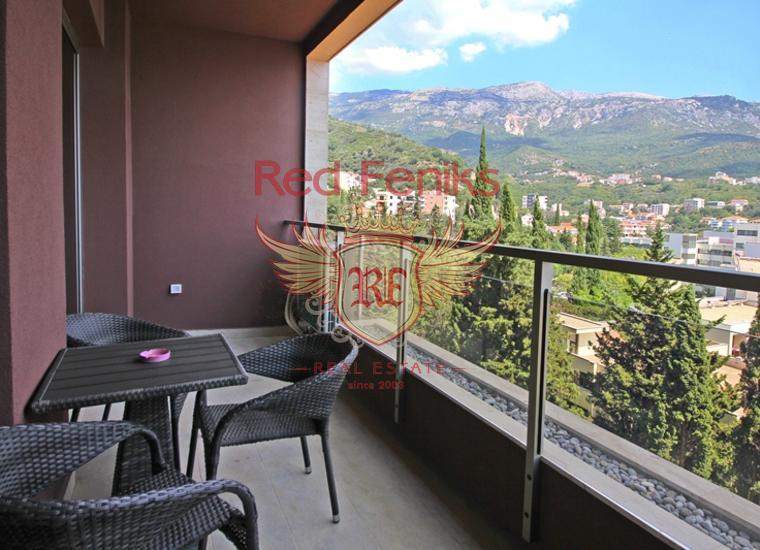 Трехкомнатная квартира в комплексе, Бечичи, Квартира в Регион Будва Черногория