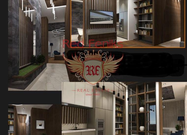 Квартира в новом здании в составе комплекса Порто Монтенегро, Квартира в Тиват Черногория