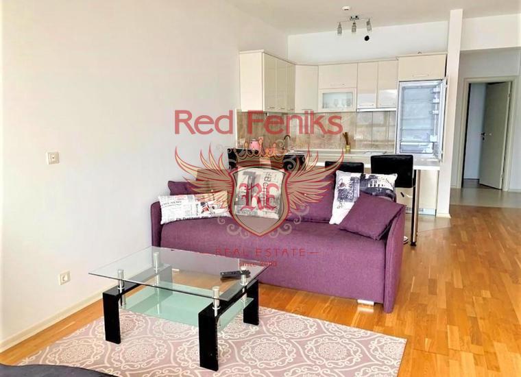 Трехкомнатная квартира в комплексе на первой линии, Будва, купить квартиру в Будва