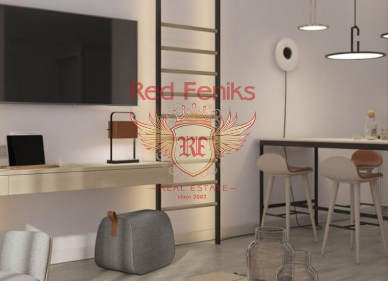 Четырехкомнатные квартиры в новом комплексе в Тивате, купить квартиру в Тиват