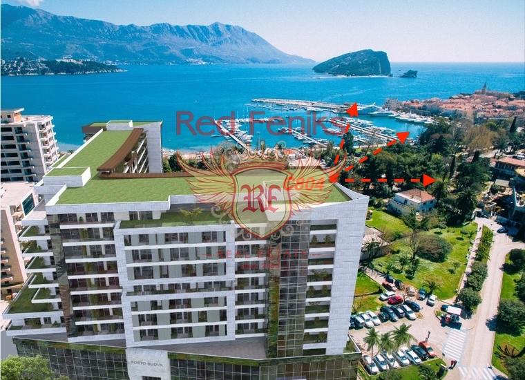 Двухкомнатная квартира в Будве на первой линии, Квартира в Будва Черногория