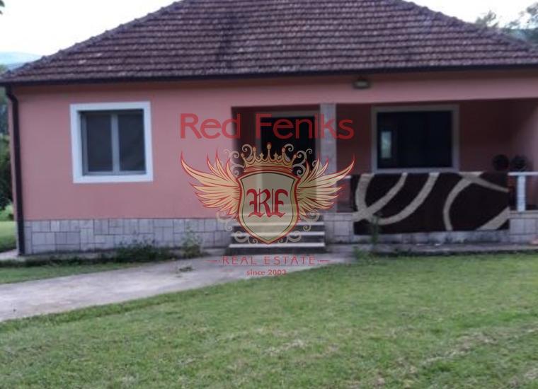 Дом на продажу с большим участком земли в Даниловграде, купить виллу в Даниловград