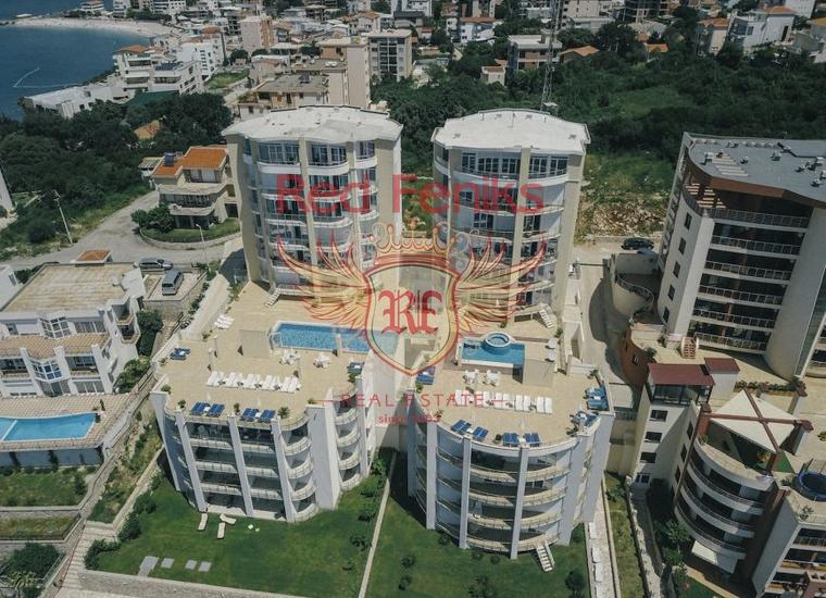 Квартира в 50 метрах от моря (Добра Вода) Черногория, Квартира в Добра Вода Черногория