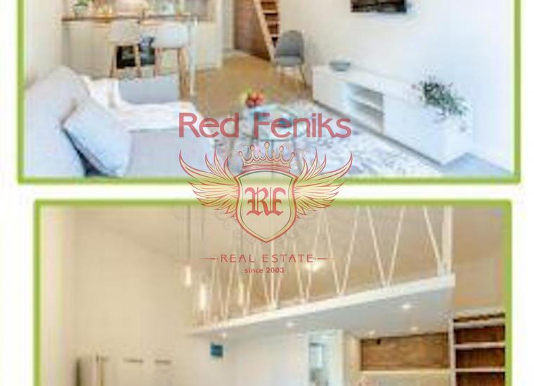 Новые квартиры в Тивате на берегу моря, Квартира в Регион Тиват Черногория