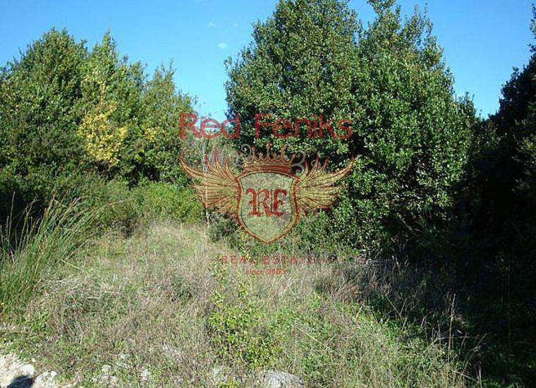 Великолепный участок с панорамным видом в поселке Биела, Земля в Херцег Нови Черногория