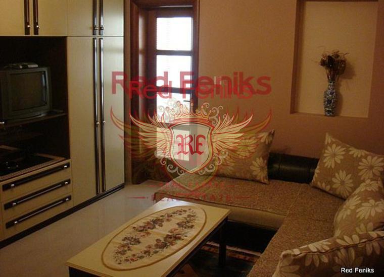 Апартамент с одной спальней и видом на море на Св.Стефане, купить квартиру в Святой Стефан