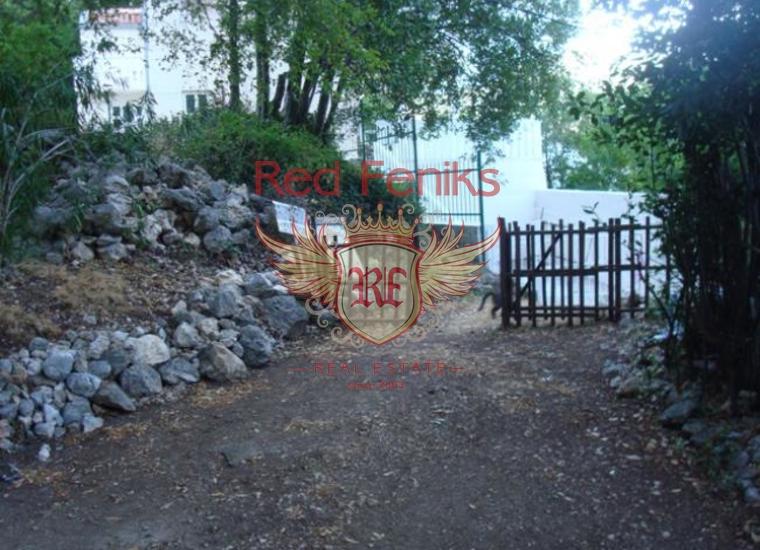 Отличный участок в поселке Люта, Земля в Которский залив Черногория