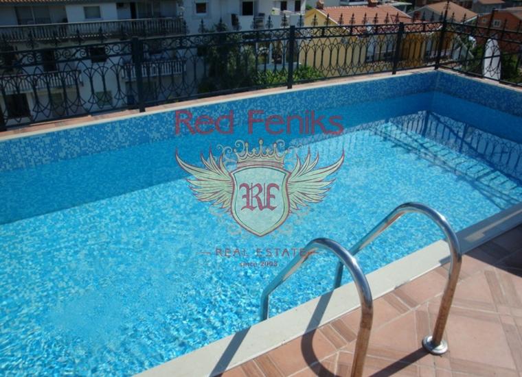 Великолепная видовая квартира c бассейном и садом в Игало, купить квартиру в Херцег Нови