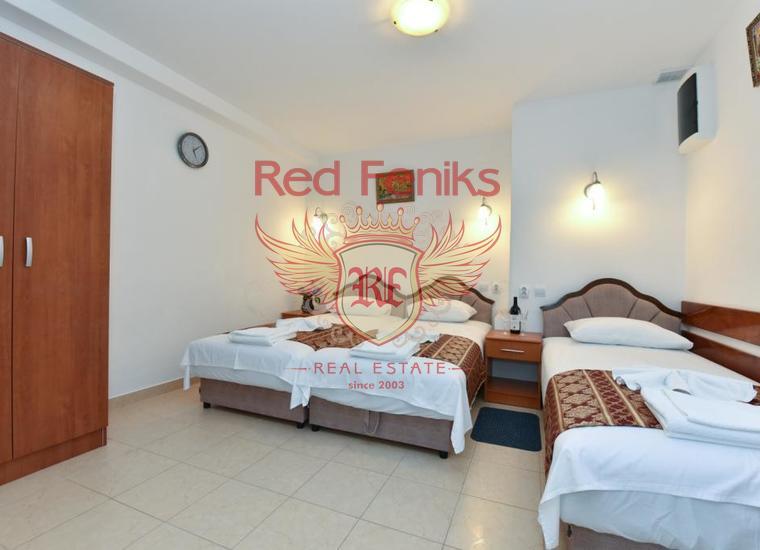 Вилла с апартаментами в Будве, купить гостиницу в Будва