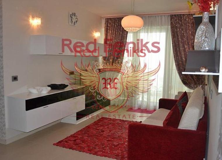 Квартира с двумя спальнями в TQ Plaza, Квартира в Регион Будва Черногория