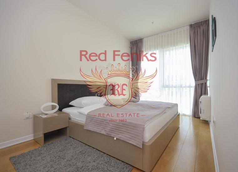 Четырехкомнатная квартира в Будве на первой линии, Квартира в Регион Будва Черногория